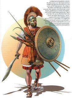 A phoenician marine, 480 BC