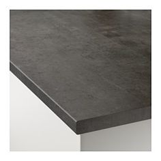 IKEA - EKBACKEN, Worktop, 246x2.8 cm, , 25 year guarantee. Read about the terms in the guarantee brochure.Laminate worktops are very durable and easy to maintain. With a little care, they stay like new for many years.The thinner worktop with straight edging strip works perfectly in a modern style kitchen.You can cut the worktop to the length you want and cover the edges with the 2 included edging strips.