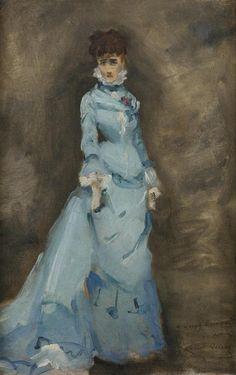 The Athenaeum - Portrait of Sarah Bernhardt (Louise Abbéma - )