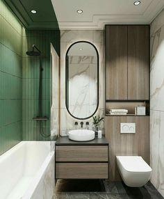 70 Suprising Small Bathroom Design Ideas And Decor Bathroom Layout, Modern Bathroom Design, Bathroom Interior Design, Mirror Bathroom, Bathroom Ideas, Bathroom Small, Bathroom Remodeling, Master Bathroom, Basement Bathroom