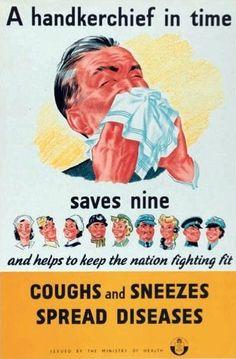 Fun Vintage Health PSA Posters Vintage Public Health Posters - New Ideas Popsugar, Medical Posters, Ww2 Posters, Vintage Advertisements, Vintage Ads, Vintage Travel, Posters Vintage, Retro Posters, Tattoo Ideas