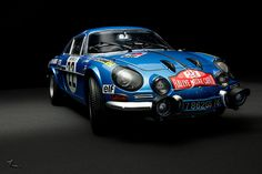 Renault Alpine A110 1600S #22 Rally Monte Carlo