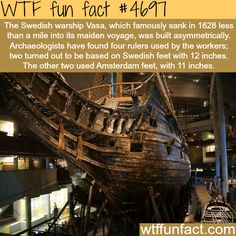 Vasa, the Swedish warship - WTF fun facts