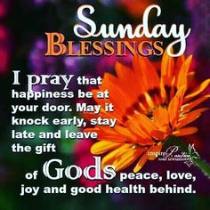 Good Morning Have A Blessed Sunday Religious Quote Blessed Sunday Morning, Blessed Sunday Quotes, Sunday Prayer, Sunday Morning Quotes, Sunday Wishes, Sunday Greetings, Have A Blessed Sunday, Morning Greetings Quotes, Morning Blessings