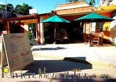 Maria's restaurant San Pancho, Mexico