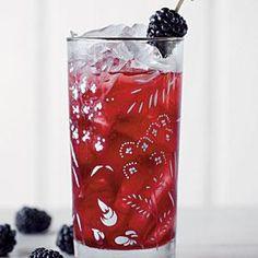 Blackberry Sweet Tea. I use decaf tea & Splenda for a low cal version.