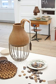 Andrea Trimarchi and Simone Farresin are Studio Formafantasma, an Italian designers duo based in Amsterdam, The Netherlands. Hybrid Design, Contemporary Ceramics, Product Design, Spinning, Glass, Table, Crafts, Industrial, Cottage