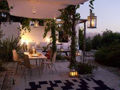 Inspiration Terrasse avec bougies par IKEA
