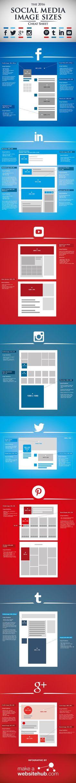 Der Social-Media-Spickzettel: Die wichtigsten Bildgrößen bei Facebook, Twitter & Co. 2016