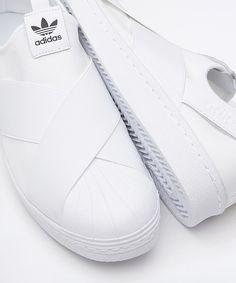 best sneakers edcc5 c30de adidas Originals Superstar Slip On Trainer   Flat White   Carbon Black    Drome Designer Trainers