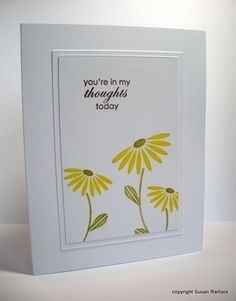 Another exquisite card by Susan Raihala of Simplicity blog