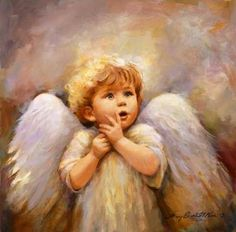 If you have your own baby angel in heaven. Baby Engel, I Believe In Angels, Ange Demon, My Guardian Angel, Angel Pictures, Angels Among Us, Angels In Heaven, Heavenly Angels, Fantasy Art
