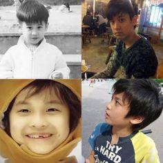 Eye Candy: Adorable childhood photos of YG Entertainment artists Kim Jinhwan, Chanwoo Ikon, Bobby, Ikon Member, Ikon Kpop, Ikon Debut, Indian Boy, Childhood Photos, Hip Hop