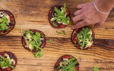 Pizza aubergine recept gezond