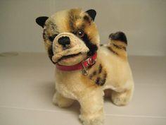 Steiff Vintage Mohair Bully Bulldog  1951 to 1974  A by GrandmaJer, $29.99