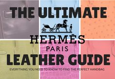 Hermès takes pride in the fine leather they use to make their products, they offer over 25 different options which can be overwhelming here's a guide to find the perfect leather for you! Balenciaga Designer, Chanel Designer, Designer Jewelry, Jewelry Design, Everything Designer, Louis Vuitton Designer, Man Crush Everyday, Beautiful Handbags, Queen