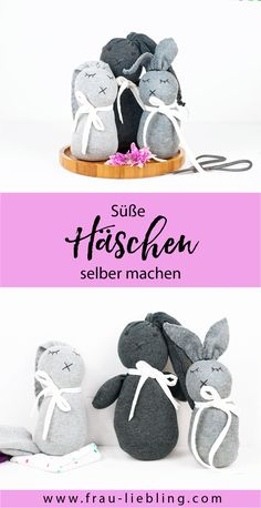A sweet gift idea: make DIY socks rabbits yourself. Upcycling A sweet gift idea: make DIY socks rabbits yourself. Upcycling ideas For Kids Upcycled Crafts, Sock Bunny, Diy Accessoires, Diy Crafts For Kids, Diy Tutorial, Cute Kids, Diy Gifts, Kids Toys, Textiles