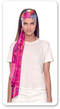 Hermes Women's Medium Dip Dyed Silk Scarves | Hermes.com