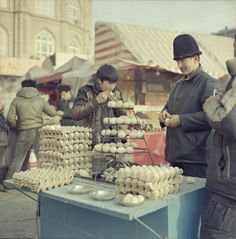 Kashgar, China: winter 2013