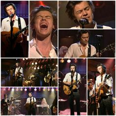 Harry sang Ever Since New York. The song is so great !