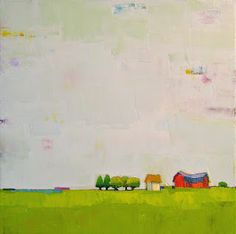 """Donna Walker. The Gift to Be Simple. 12"""" x 12"""" Sold"""