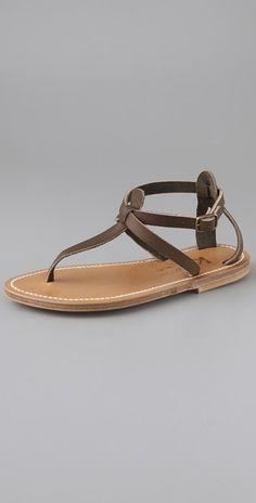 7ff9b4950b6b K. Jacques Buffon Thong Sandals Shoes Flats Sandals