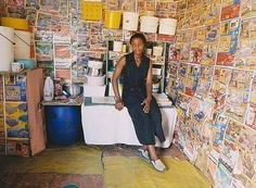 Zwelethu Mthethwa (South African, Untitled (from Interior series) , C-print, h: 38 x w: 51 in African Interior, Artwork Images, African Art, Contemporary, South Africa, Photography, Houses, Interiors, Spaces
