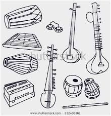 Indian Instruments Coloring Pages Google Search Indian