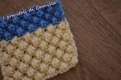 In questo tutorial vi spiego come fare il punto mimosa ai ferri, un punto molto particolare che crea delle piccole noccioline in rilievo. Knitted Baby Blankets, Knitted Hats, Crochet Hats, Lana, Diy And Crafts, Camilla, Cross Stitch, Knitting, Creative