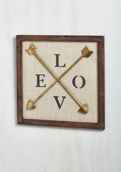 Frame of Kind Wall Decor. When the name of the aim is love, youre delighted to play. #multi #modcloth