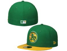 Oakland Athletics 2-Tone Southpaw 59Fifty Fitted Baseball Cap by NEW ERA x MLB