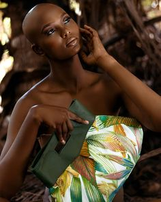 The Green Gold Collection for Summer 2017 by @memebete.bags is now live on our website.  Photo by: Kareem Stanley @iammeerakulos Make up by: Jo Celestin @beltekweyol Model: Dasher Agdomar @dasher_dives Bag: @memebete.bags  Location: Dennery Banana Plantat