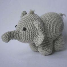 Olivier Free Elephant Amigurumi Pattern