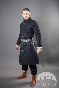 Medieval gambeson under armour SCA fighting gear