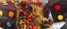 Überrachungstorte, Rezept Surprise-Torte, Backen, Kindertorte, Kuchen, Rezepte, Smarties, Geburtstagstorte