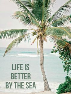 Life is better by the sea!