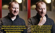 The evil plan to destroy the Sherlock fandom