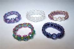 beaded ring patterns free - Google-Suche