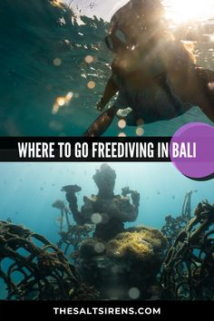 If you've ever wanted to explore the underwater world on one breath, Bali is a top destination to do so. Fiji Travel, Bali Travel Guide, Asia Travel, Travel Tips, Travel Destinations, Travel Advice, Travel Ideas, Luang Prabang, Laos