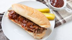 Slow Cooker Beer Beef Brisket. Slow cooker beer brisket, pulled and stuffed inside sandwiches!
