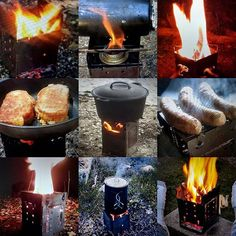 FIREBOX Photos Sent In By Happy Campers! #fireboxing#folding#stove#campstove#camp#camping#hiking#Backpacking#survival#bush#bushcraft#twig#stick#hobo#cooker#emergency#outdoor#cooking#prep#prepper#preping#boiling#fire#box
