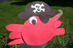 Pirate Crafts from Camp - Jen Bowles Design