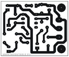 Circuito impreso del sensor IR de proximidad