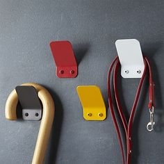 Red Square Hook in Utility & Kitchen Helpers | Crate and Barrel: