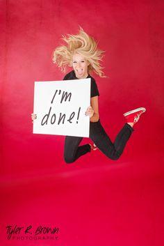 @lyssastevens - Liberty Christian High School - Red - #seniorportraits - Studio - Jumping - Black T-shirt - Jeans - Blond - Senior Portraits - Converse - Fun - Energetic - Studio - Frisco - Texas - Class of 2015 - Tyler R. Brown Photography