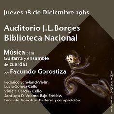 Cita en las Diagonales: Facundo Gorostiza en Biblioteca Nacional de la Rep...