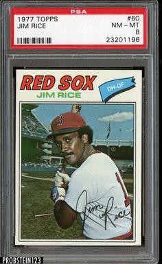 1977 Topps Jim Rice Baseball Card for sale online Baseball Wall, Baseball Photos, Boston Sports, Boston Red Sox, Jim Rice, Mlb Players, Baseball Players, Pittsburgh Pirates Baseball, Baseball Cards For Sale