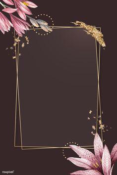 Flower Background Wallpaper, Framed Wallpaper, Cute Wallpaper Backgrounds, Flower Backgrounds, Background Patterns, Cute Wallpapers, Instagram Frame Template, Amaryllis, Photo Collage Template