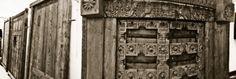 Antiguedades, puertas teca y roble.