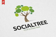 Social Tree Logo - Logos